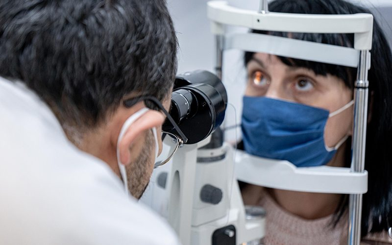 Exame ocular